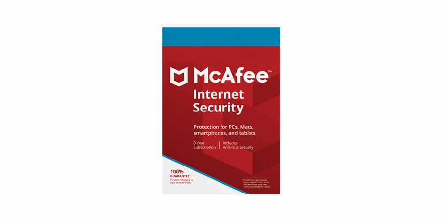 McAfee Internet Security- 6-month subscription