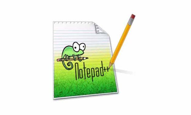 Notepad++ 7.8.9 (64-Bit)